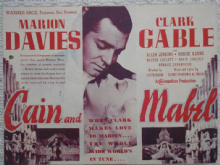 Cain and Mabel, Flyer/Herald, Clark Gable, Marion Davies, '36